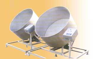 Оборудование для покрытия арахиса сахаром.