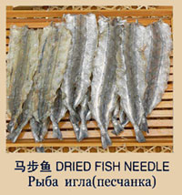 рыба игла (песчанка)